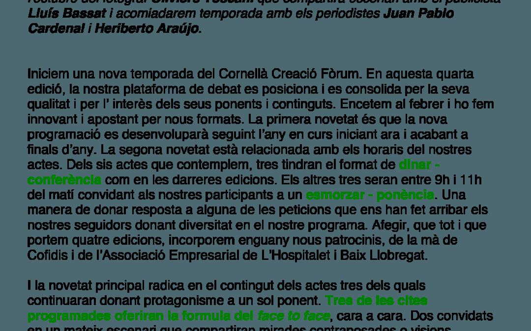 Dossier Cornella Creacio 2013