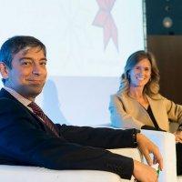 Cristina Garmendia i Carlos Buesa